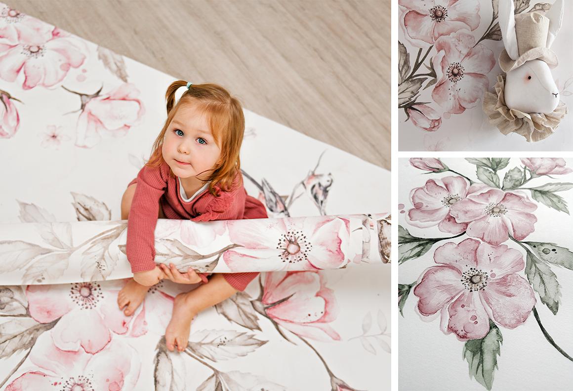 Tapety do pokoju dzieci - efektowna dekoracja wnętrza